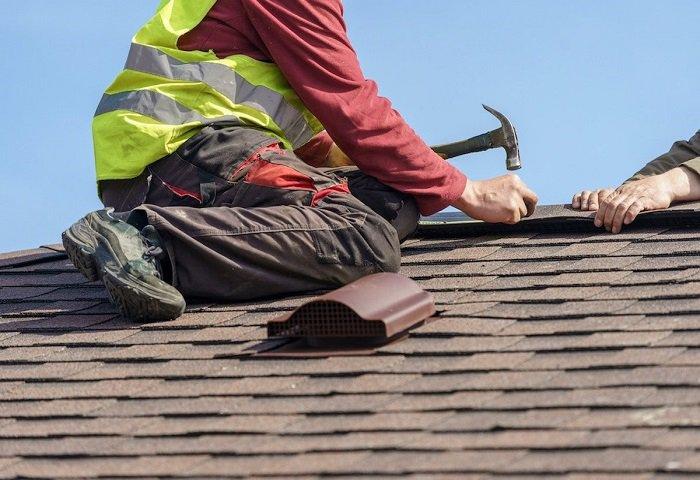 Монтаж планок для крыши