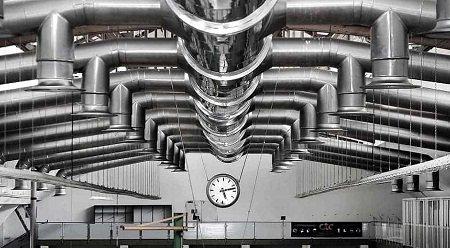 Промышленная вентиляция монтаж